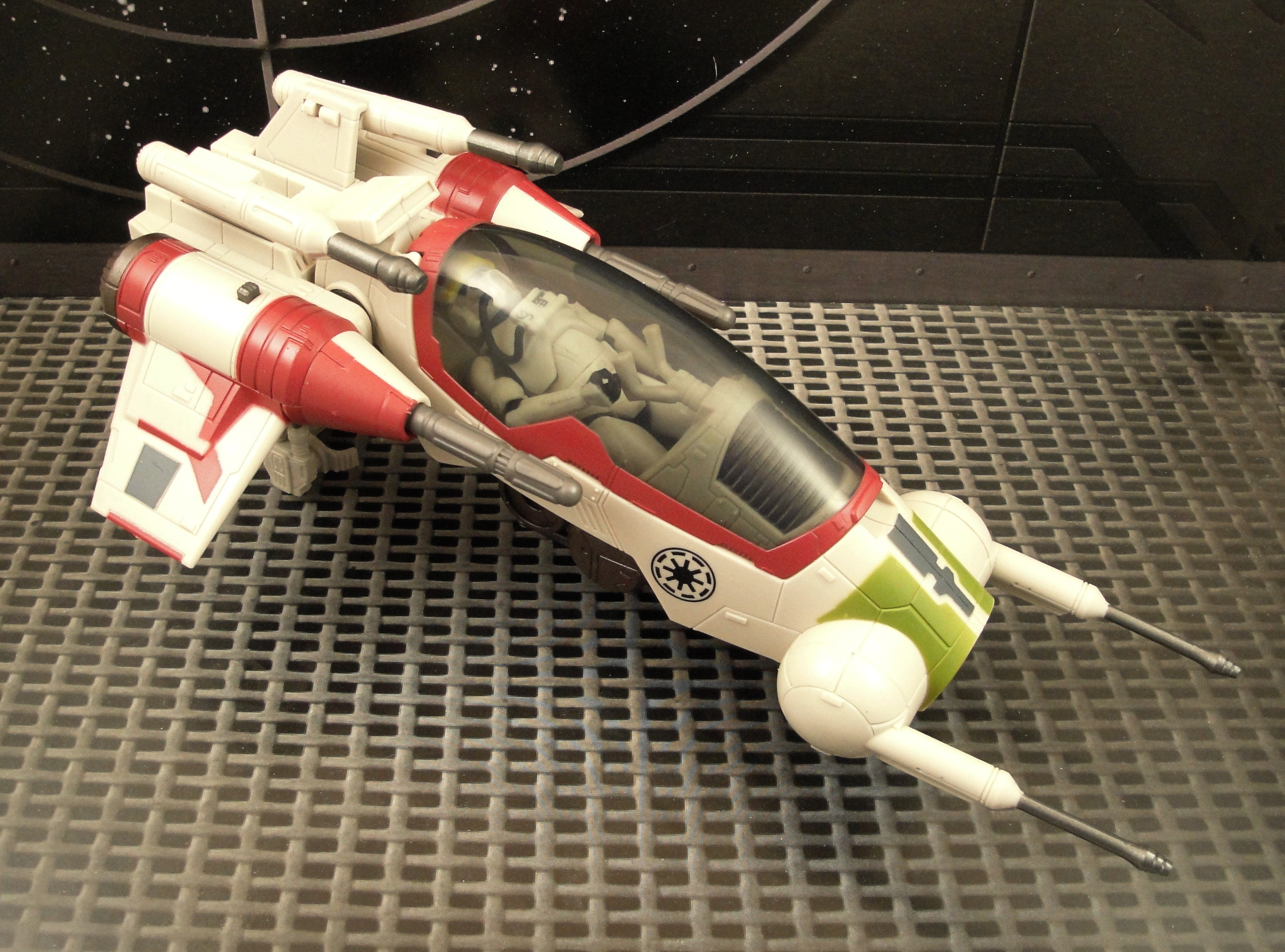 Star Wars Toy Ships : Review star wars republic attack dropship
