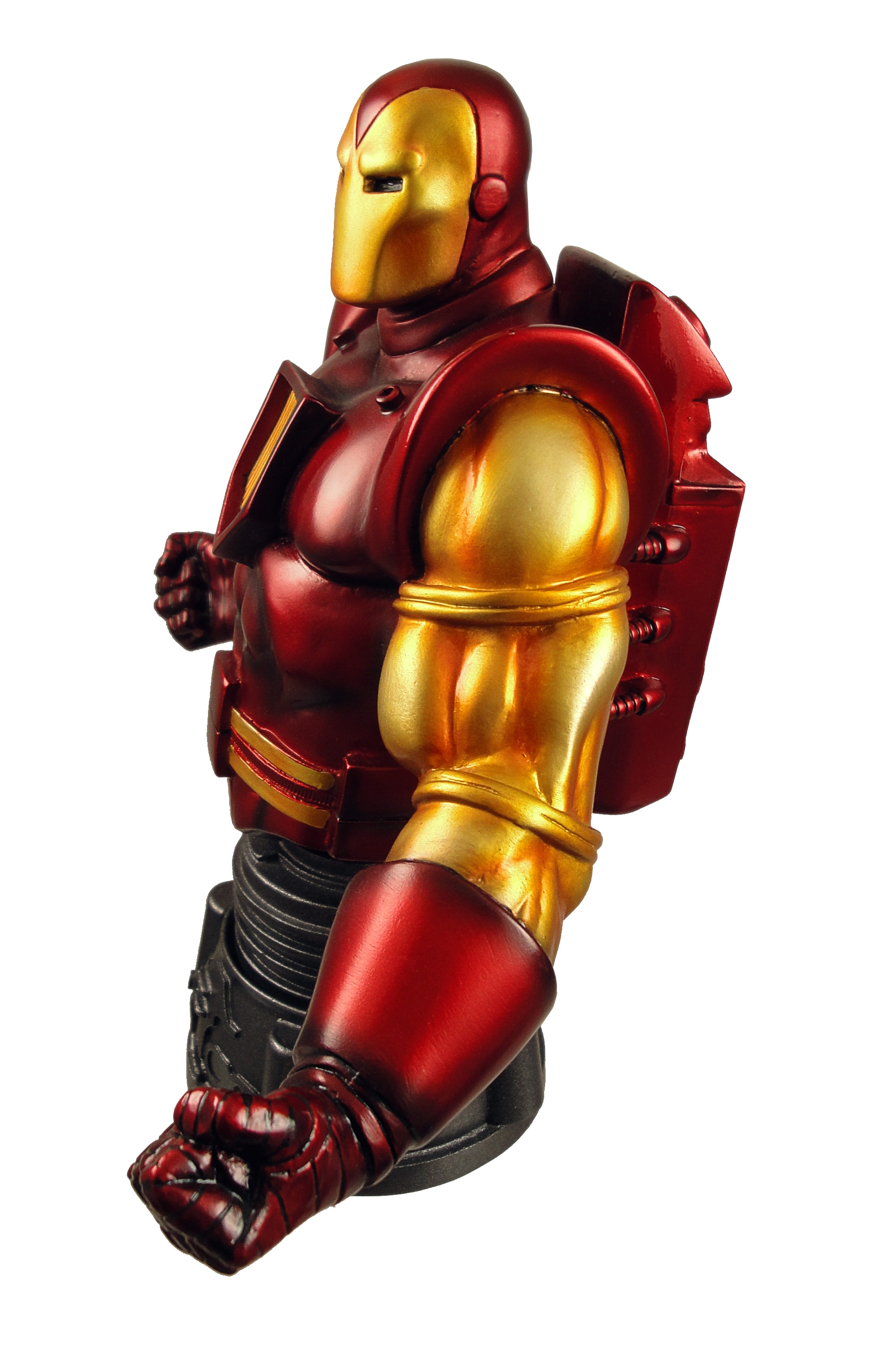 Review space armor iron man mini bust - Mini iron man ...