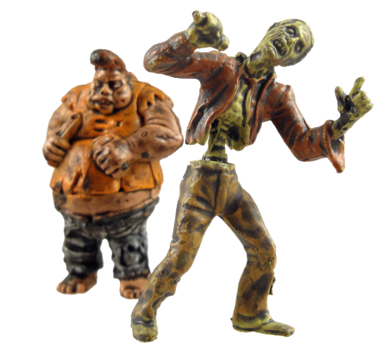 """ZOMBIE PLANET COMPLETE SET 9 Figures 1.5/"""" Toys Figurines Characters Zombies"""