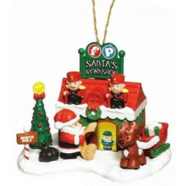 Fisher-Price Little People Christmas Ornament