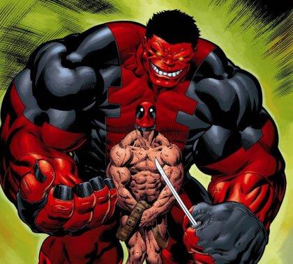 hulk spiderman vs rulk deadpool
