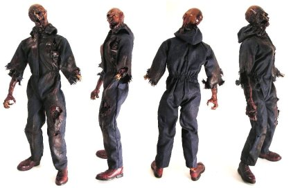 spotted online monsterforge s 12 inch scale zombie action figure. Black Bedroom Furniture Sets. Home Design Ideas