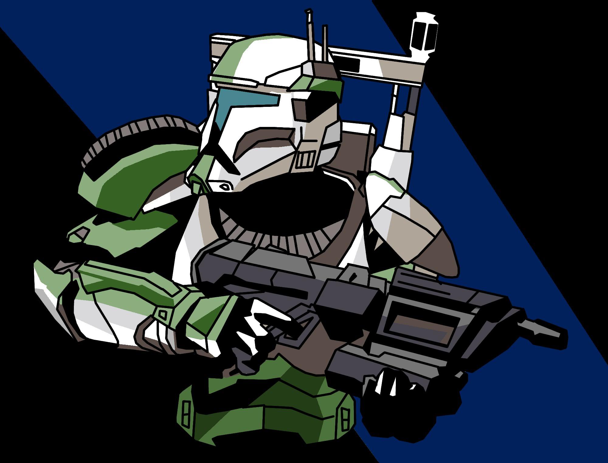 Star Wars Republic Commando Fixer Illustrated