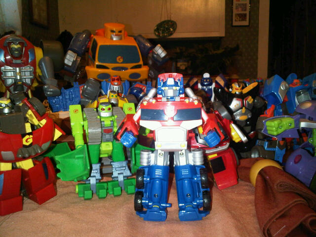 Rescue Bots House Transformers Rescue Bots And