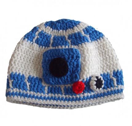 Etsy R2 D2 Crochet Hat