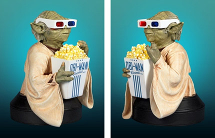 33e4291e38e6 Yoda with 3-D Glasses Available Now from Gentle Giant