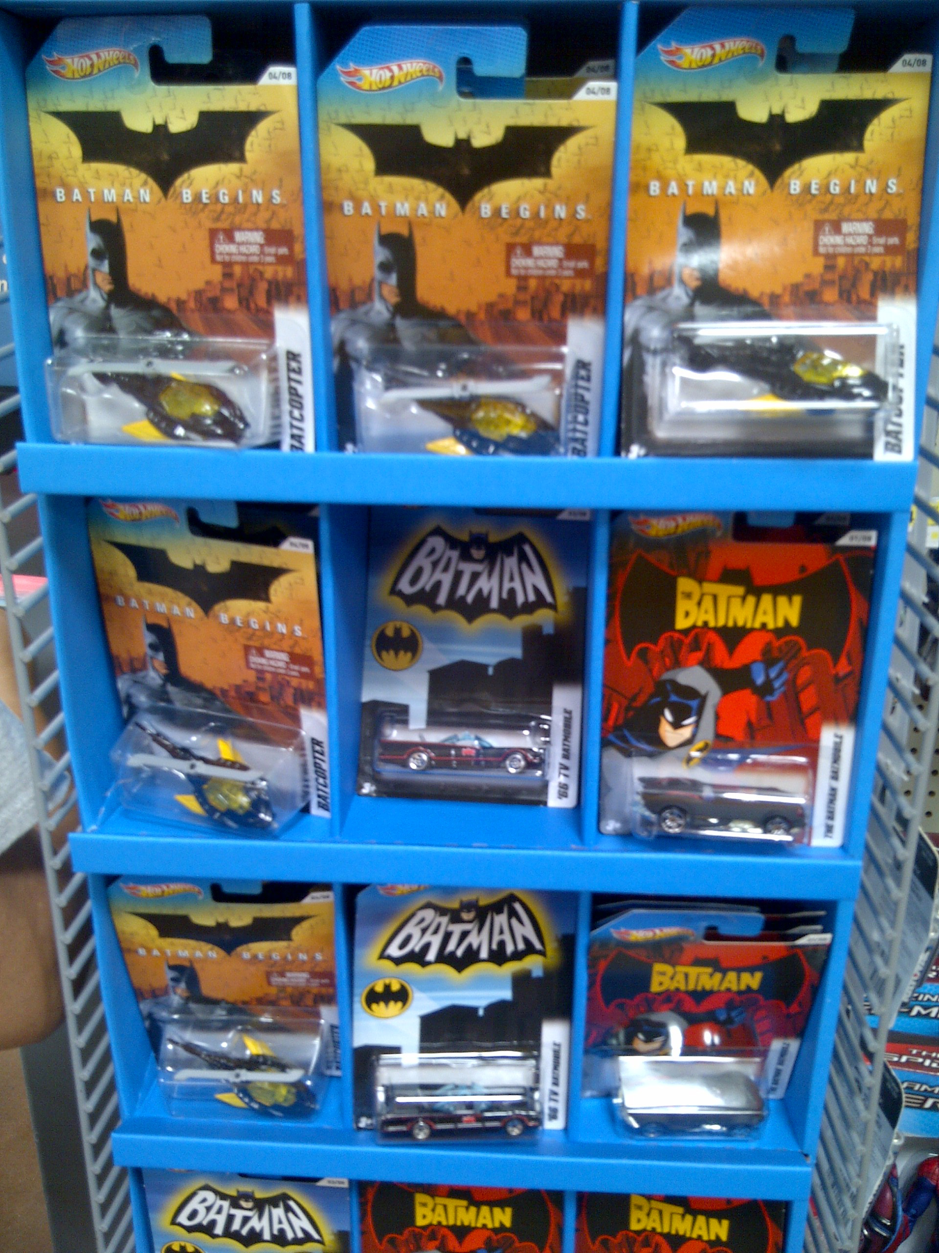 bat - Hot Wheels Cars 2012