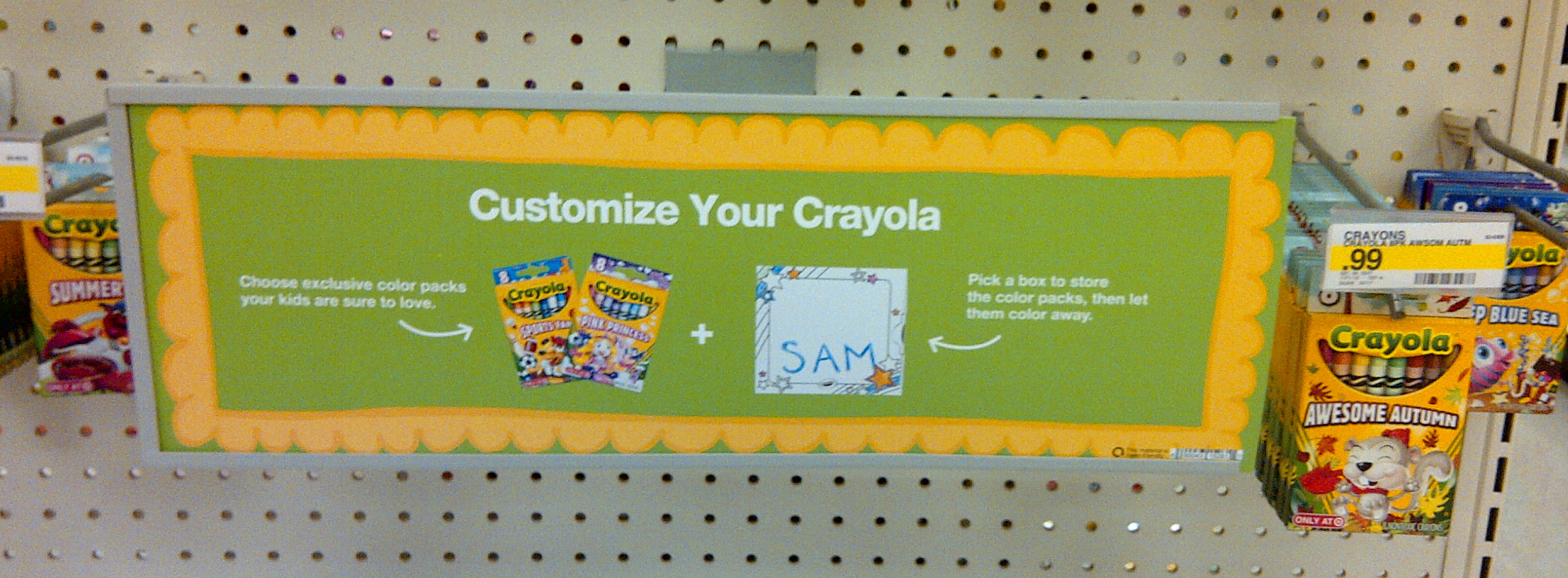 "Crayola ""Pick Your Pack"" Crayons Only at Target"