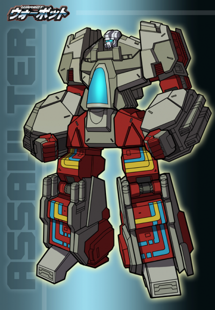 how tall is warbot assaulter