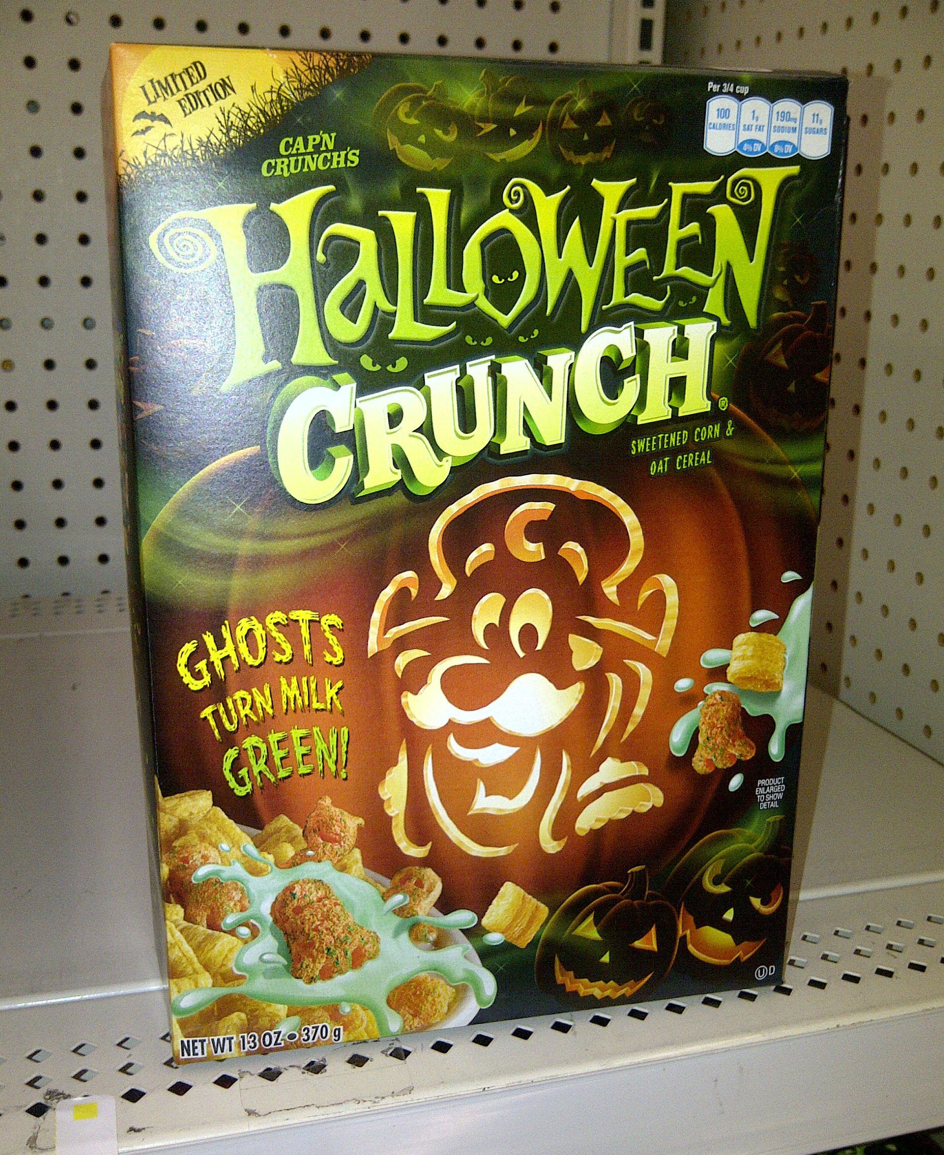 halloween capn crunch now in stores - Captain Crunch Halloween