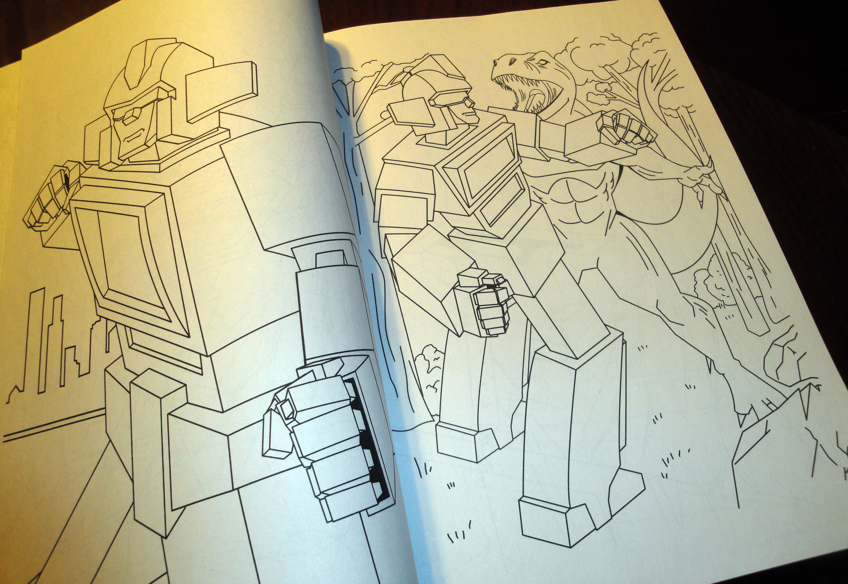 Reading Robots Coloring And Activity Book