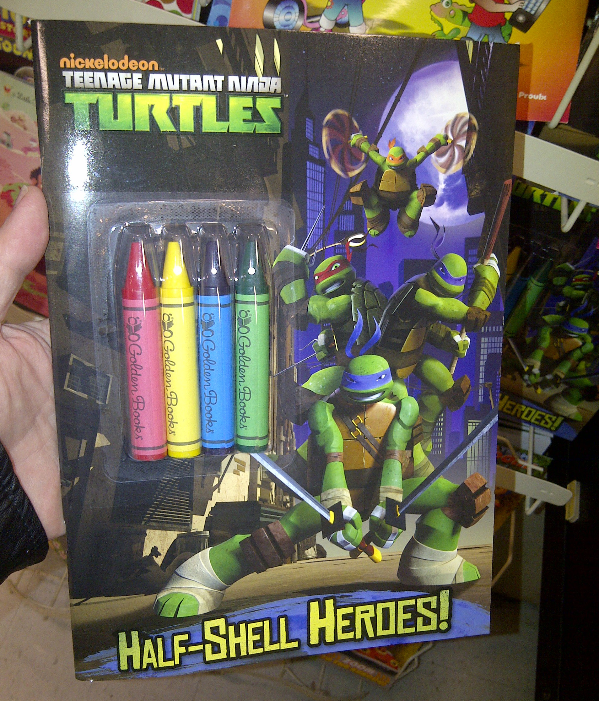 new teenage mutant ninja turtles coloring book in stores - Teenage Mutant Ninja Turtles Coloring Book