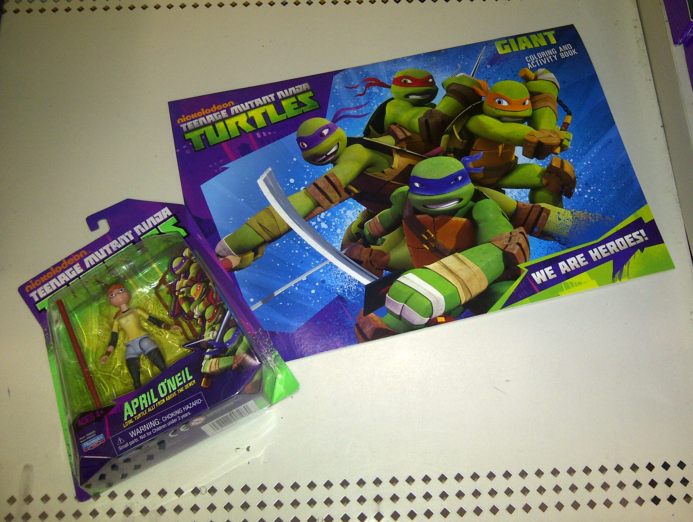 teenage mutant ninja turtles giant coloring book only 1