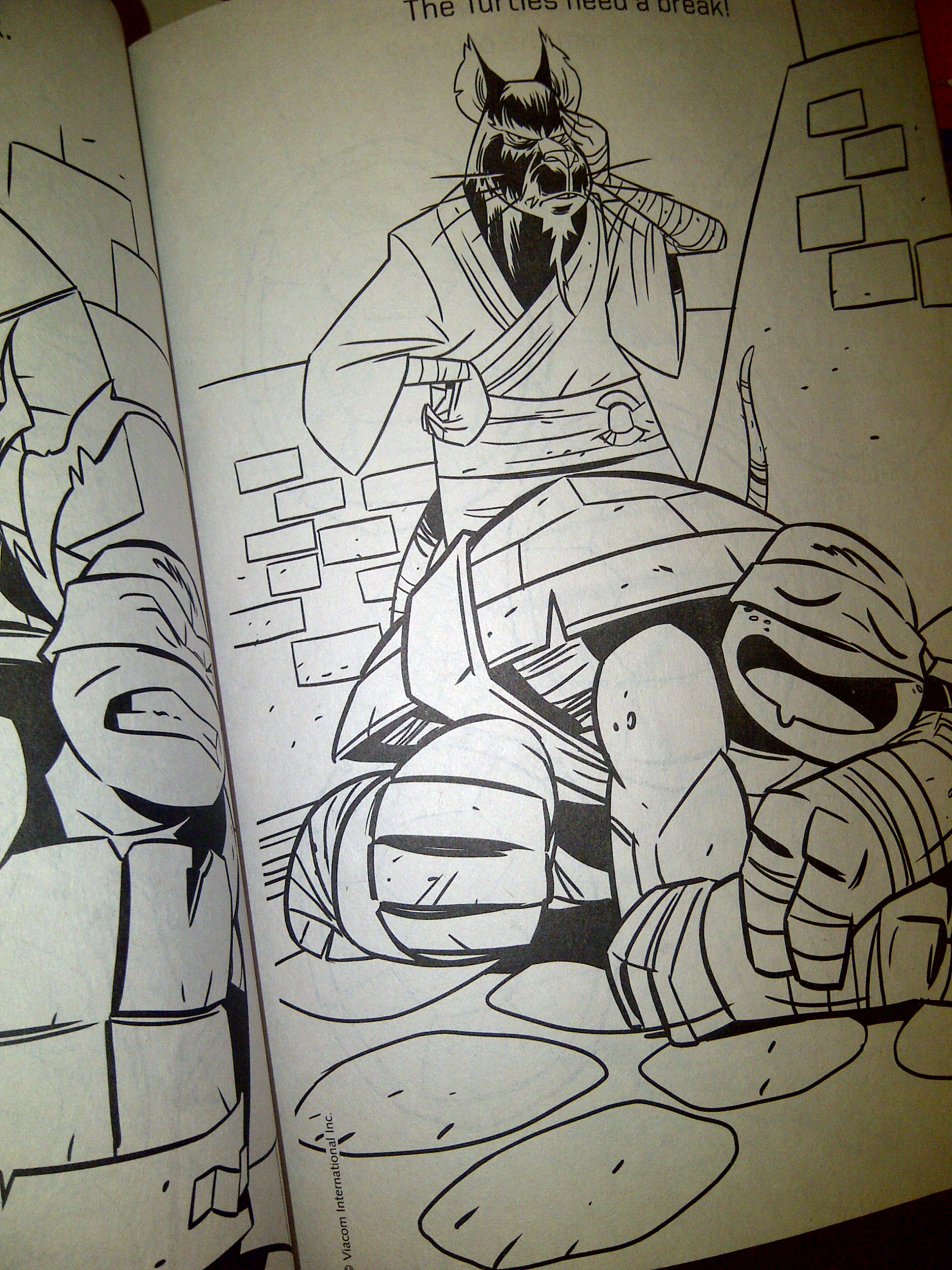 teenage mutant ninja turtles nickelodeon leonardo coloring pages