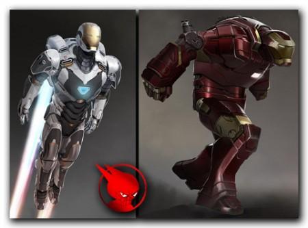 Concept Art Hulkbuster Space Armor Concept Art