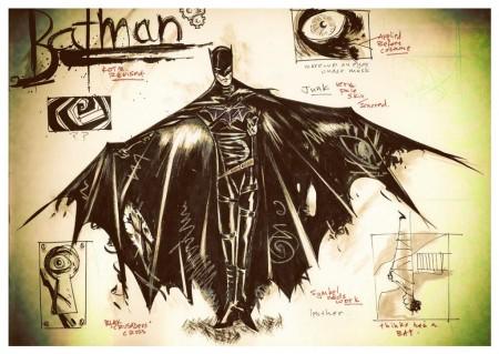Batman Year One Darren Aronofsky Concept Art