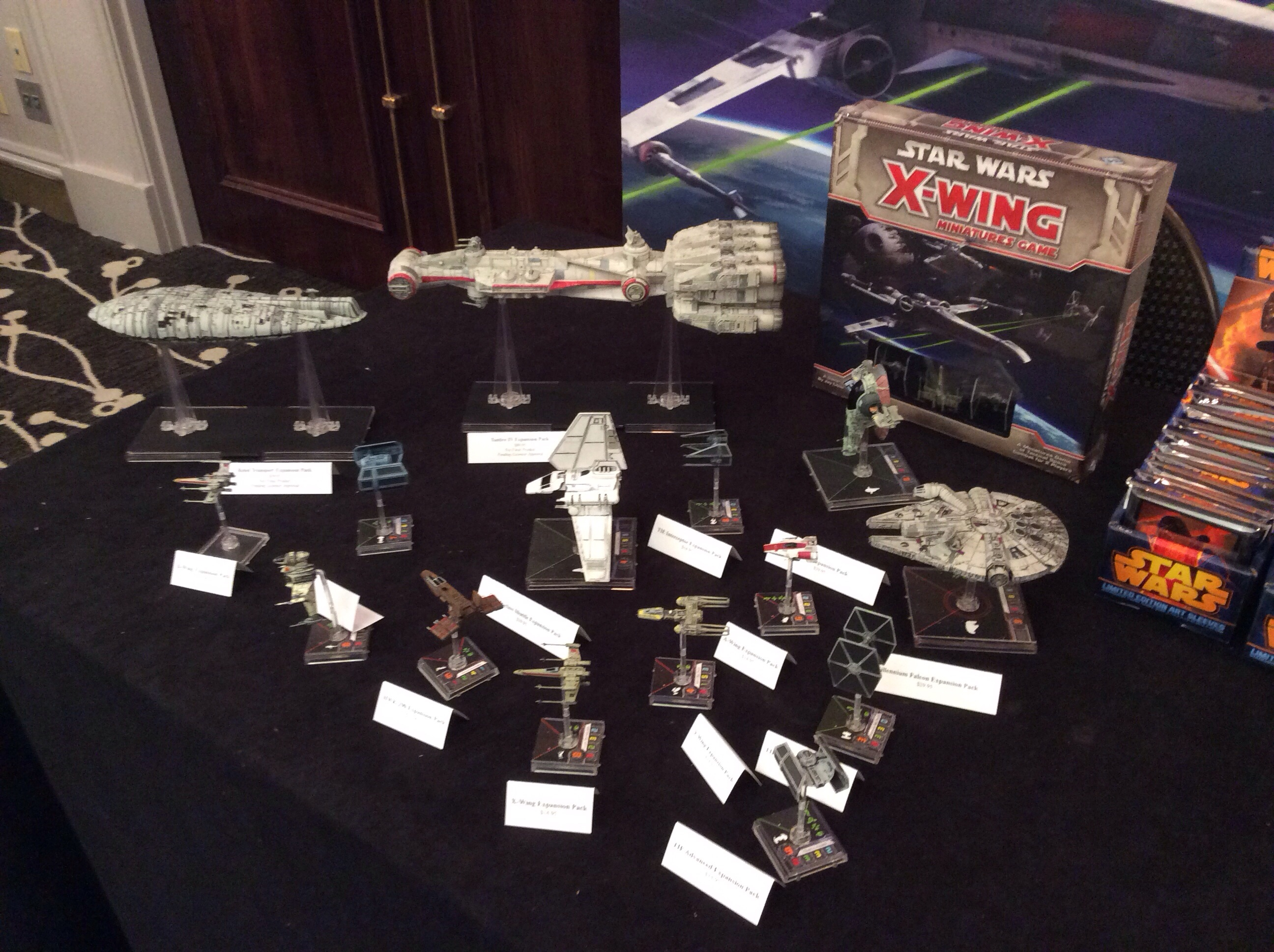 Star Wars X-Wing Miniatures Game at Dallas Distributor ShowX Wing Game