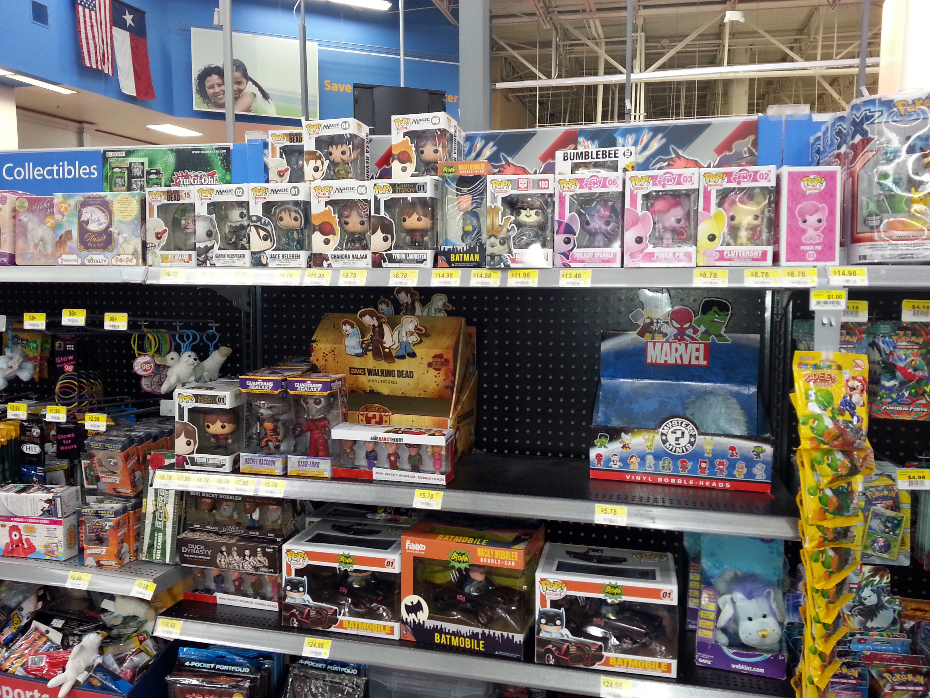 Toys At Walmart : Funko page