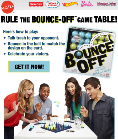 mattel games bounce off