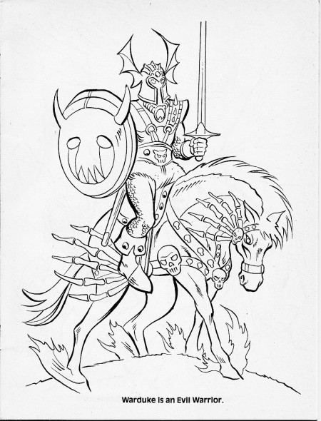 dungeons and dragons coloring pages - photo#31