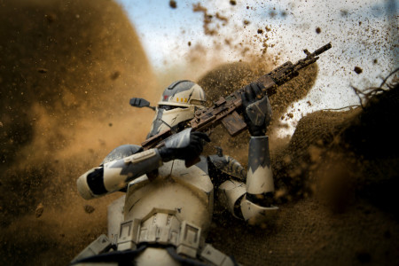 Spotted Online Star Wars Action Figure Photography and Galactic