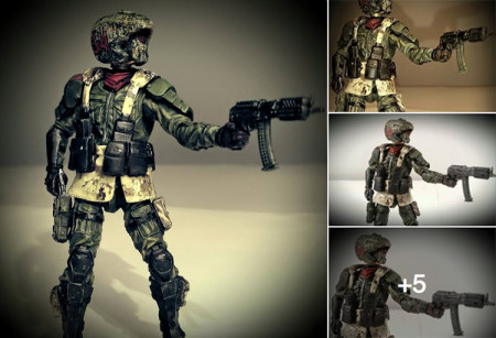 Spotted Online – Custom 3 75-Inch Scale Acid Rain Action