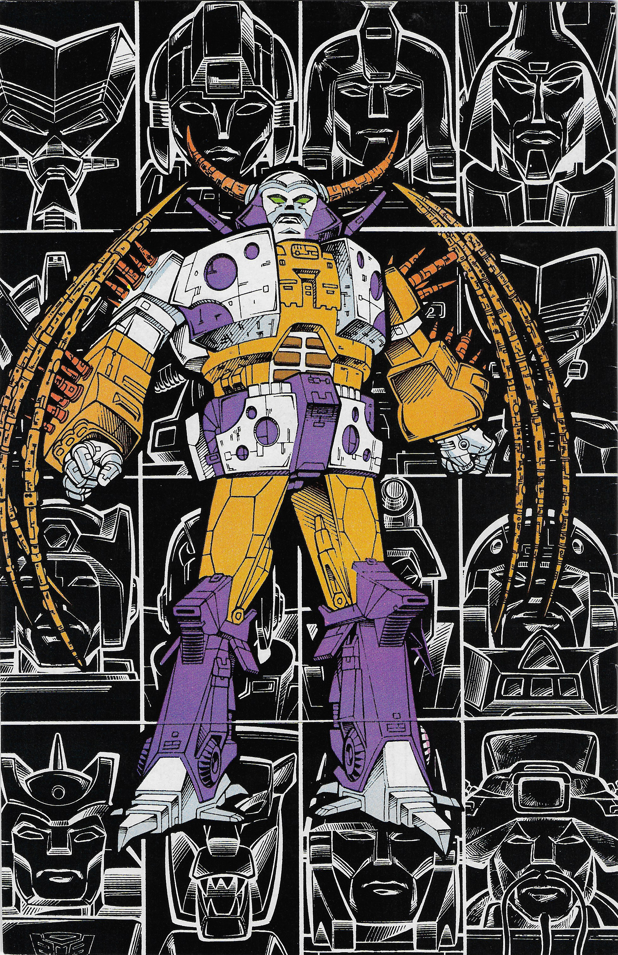 Transformers Universe #4 and Unicron