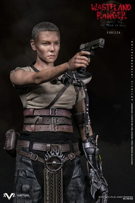 unofficial mad max furiosa 12 inch scale action figure at cotswold collectibles