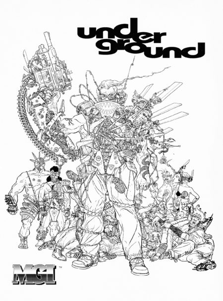1993 ad for mayfair u2019s underground roleplaying game