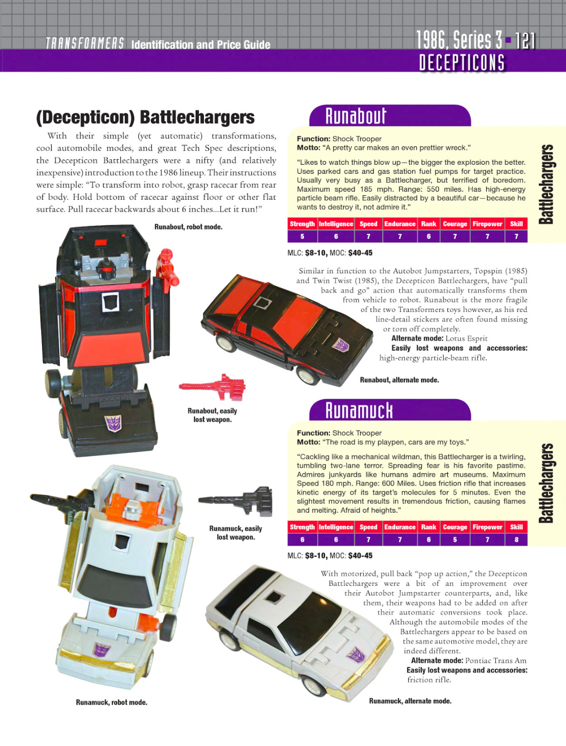 transformers identification and price guide pdf