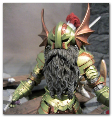 A Mythic Legions dwarf action figure. See 16bit.com for more pics!