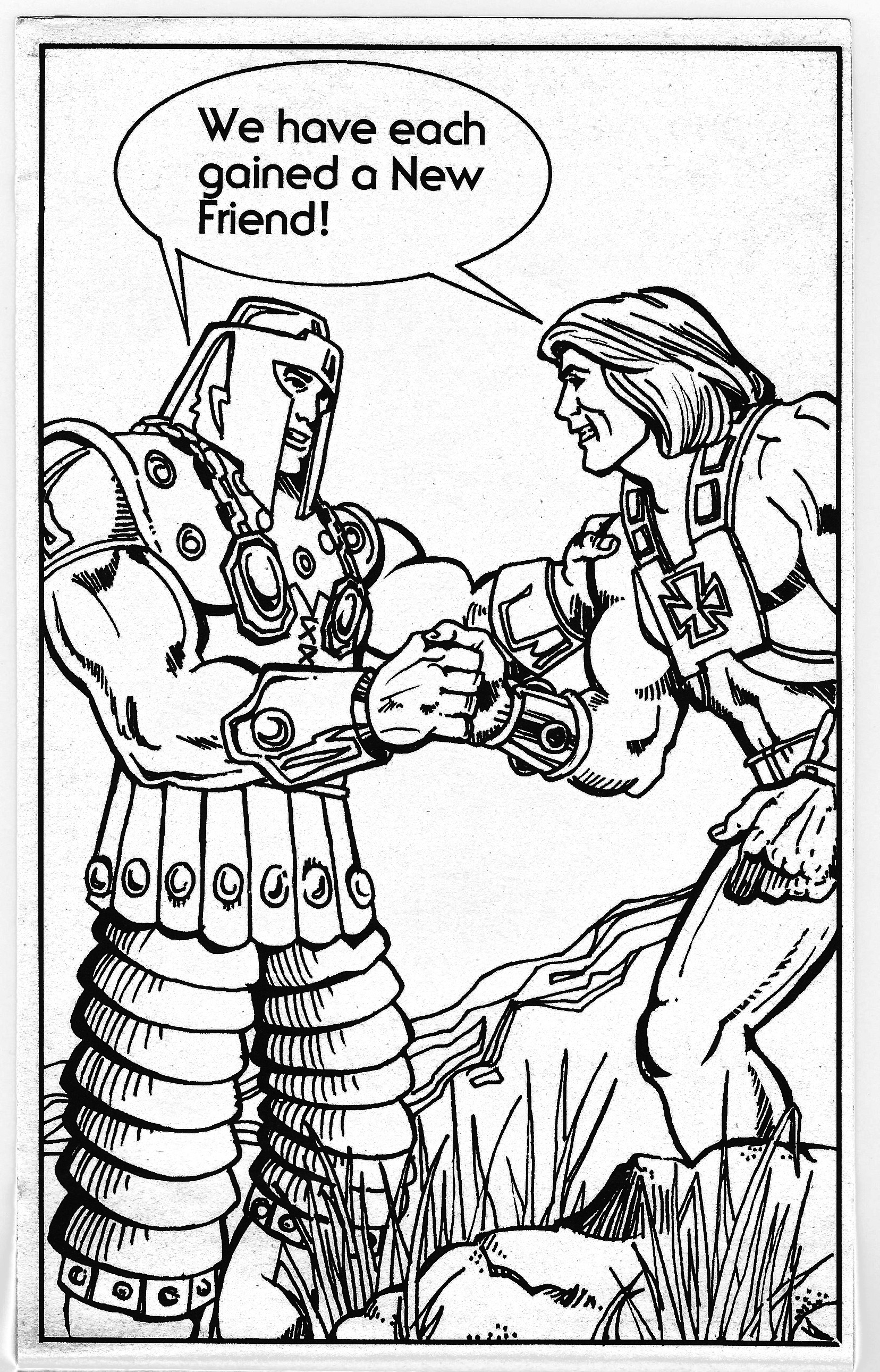 """1983 Masters of the Universe """"Character Coloring Book ..."""